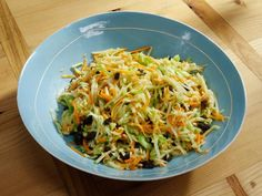 Get Food Network's Scrap Salad Recipe Katie Lee i would use a broccoli bag slaw mix & add the green apple