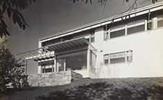 James Ford House, Lincoln MA (1939)   Marcel Breuer, Walter Gropius