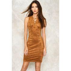 Camel and tan long sleeve dresses
