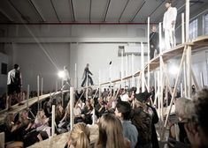 Catwalk for Up [øpp] by Gartnerfuglen Architects