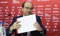 Castro: «Tenemos un acuerdo por escrito con el padre y el agente de Vitolo»