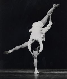 Twyla Tharp and Mikhail Baryshnikov in 'Once More, Frank', 1976
