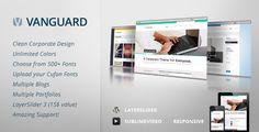 Download – Vanguard: Themeforest Business & Portfolio WordPress Theme