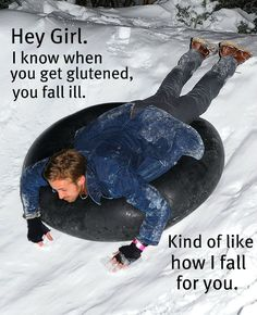 Happy Birthday, Ryan Gosling — Celebrate With His Sexiest Moments!: Ryan soaked up the snow while tubing during the Blue Valentine party at the Sundance Film Festival in Fall For You, I Fall, Autumn, Witty One Liners, Sundance Film Festival, Ryan Gosling, I Love To Laugh, Hey Girl, Dream Guy