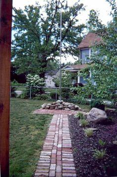 Memorial Brick Walkway