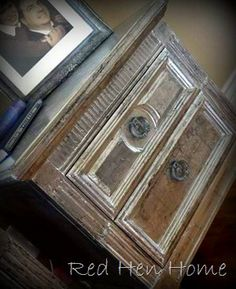 """Silver Leaf"" nightstands"