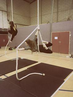 Aerial Rope Move - 'Archer' - Freya Pellie