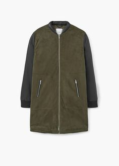 Military style coat | MANGO