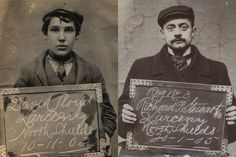 Archivists keep mugshots. Mugshots from Tyne and Wear Archive and Museums Old Photographs, Old Photos, Vintage Photos, Black White Photos, Black And White, North Shields, North East England, My Heritage, Historical Pictures