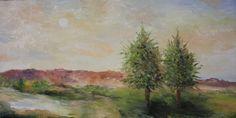 Landscape Oil by Jacqueline Zuckerman