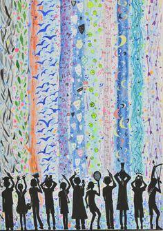 Medaile škole za kolekci malby a kresby: Chau Jaqueline (14 let), Simply Art, Hong Kong, Čína Art Lessons, Hong Kong, Shower, Prints, Asia, Color Art Lessons, Rain Shower Heads, Showers, Art Education