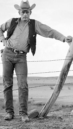 "James Dean in the Movie ""Giant"""