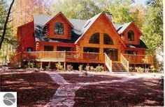 View property details, photo galleries, and virtual home tours. Save your searches and favorite properties on your private web site 'My Home Finder. Log Cabin Living, Log Cabin Homes, Log Cabins, Cabin Design, Cottage Design, House Deck, My House, Amazing Buildings, Cozy Cabin