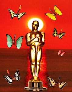 The Oscars   One Of A Series of digital paintings by Eric Kempson