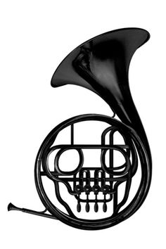 """Striking visual from """"As The Music Dies"""". See the skull?"""