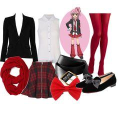 """Amu Hinamori - Uniform"" by theearlmustang on Polyvore"