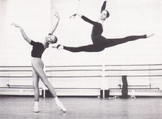 Darcey Bussell and Natasha Makarova... One of my very favorite ballet pictures