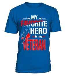 "# Funny family shirt My favorite hero is my VETERAN .  Special Offer, not available in shops      Comes in a variety of styles and colours      Buy yours now before it is too late!      Secured payment via Visa / Mastercard / Amex / PayPal      How to place an order            Choose the model from the drop-down menu      Click on ""Buy it now""      Choose the size and the quantity      Add your delivery address and bank details      And that's it!      Tags: This funny T-shirt is perfect for…"
