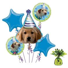 Check out Puppy Party Balloon Kit - Discount Party Decorations and Supplies from…