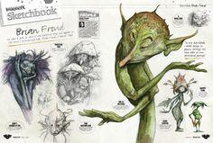 goblins and fairies brian - Google Search