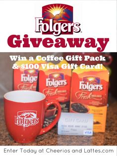 Want to WIN a Coffee Break and $100 Visa Gift Card!? Enter Now to Win!