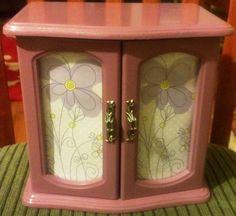 Pretty Purple Upcycled Jewelry Box