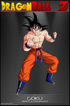 Dragon Ball Z - Goku BDVV by *DBCProject on deviantART