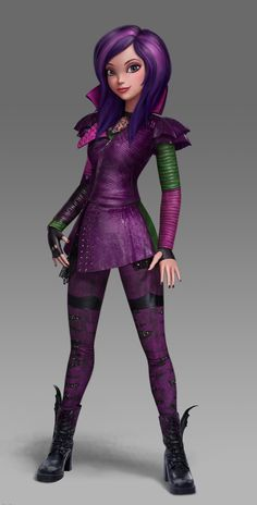 All about Monster High: Descendants Wicked world Promo Evie, Mal ...
