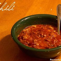 Easy Chili Recipe-8 Minutes in Your Pressure Cooker *(GOOD)*