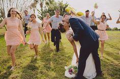 wedding day excitement | V + J | Kelly Hancock Event Planning www.kellyhancocke... | Alyssa Shrock Photography
