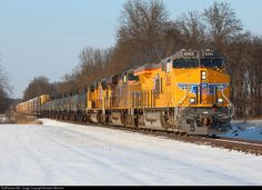 RailPictures.Net Photo: UP 8263 Union Pacific GE ES44C4 at St James. , Illinois by Brandon Warnick