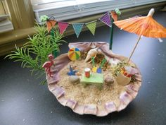 craft with beach shells 1