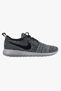 Womens Roshe Run Flyknit - Cool Grey   Black - Wolf Grey - White - Footwear  - Womens - Superette 779e6e1cb