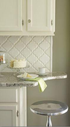 Products Ceramic Backsplash Tile - page 9 This is a beautiful combo. I love the backsplash!