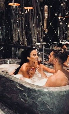 Take A Romantic Bath Together