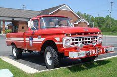 Old Ford Fire Truck by DieselDucy, via Flickr