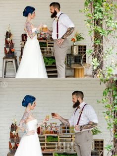 Industrial-chic Stylized Wedding Photography at the Ybor City State Museum