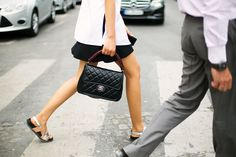 top handle #bag :: #Chanel