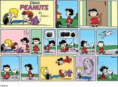 Peanuts Sunday Comics -- 13 April 2008