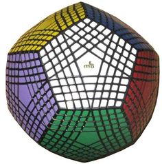 Dodecahedron 12 Sided Magic Cube Puzzle....and you thought a cube was hard