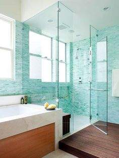 Aqua, Teal, And Turquoise Home Remodeling Ideas | Teal, Turquoise Bathroom  And Bathroom Designs