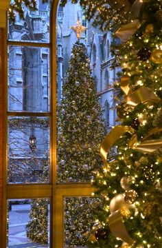 Christmas at the New York Palace Hotel