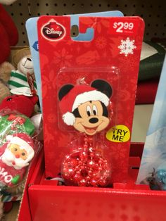 Mickey Mouse Christmas necklace