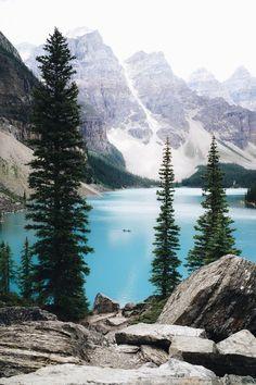 Lake moraine, Banff national park, Canada | joytravelfood | VSCO Grid