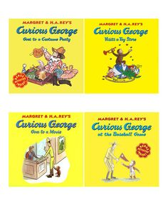 Curious George: Fun Paperback Set