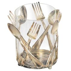 DUPLICATING THIS! I pinned this Utensil Utensil Holder from the Cari Cucksey of Cash & Cari event at Joss and Main!
