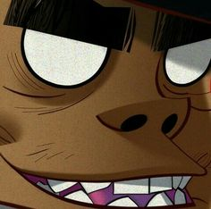 Great Bands, Cool Bands, Jamie Hewlett Art, 2d And Noodle, Monkeys Band, Russel Hobbs, Fanart, Gorillaz Art, Cemetery