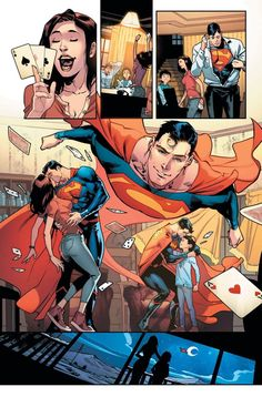 Its time for the Super team-up you've all been waiting for: the sons of Batman and Superman have graduated to their own monthly comic! Tomasi and artist Jorge Jimenez introduce you to Batman Vs Superman, Mundo Superman, Superman Facts, Superhero Family, Superman Family, Action Comics 1, Comic Layout, Hq Marvel, Comic Manga