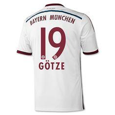 Gotze Away 2014/15 white  shirt http://www.mbalchsharesjuiceplus.com You can enjoy 15% off by shop over £200.Discount Code:cutoff15%