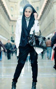 Model Baju Muslim untuk Wanita Tomboy